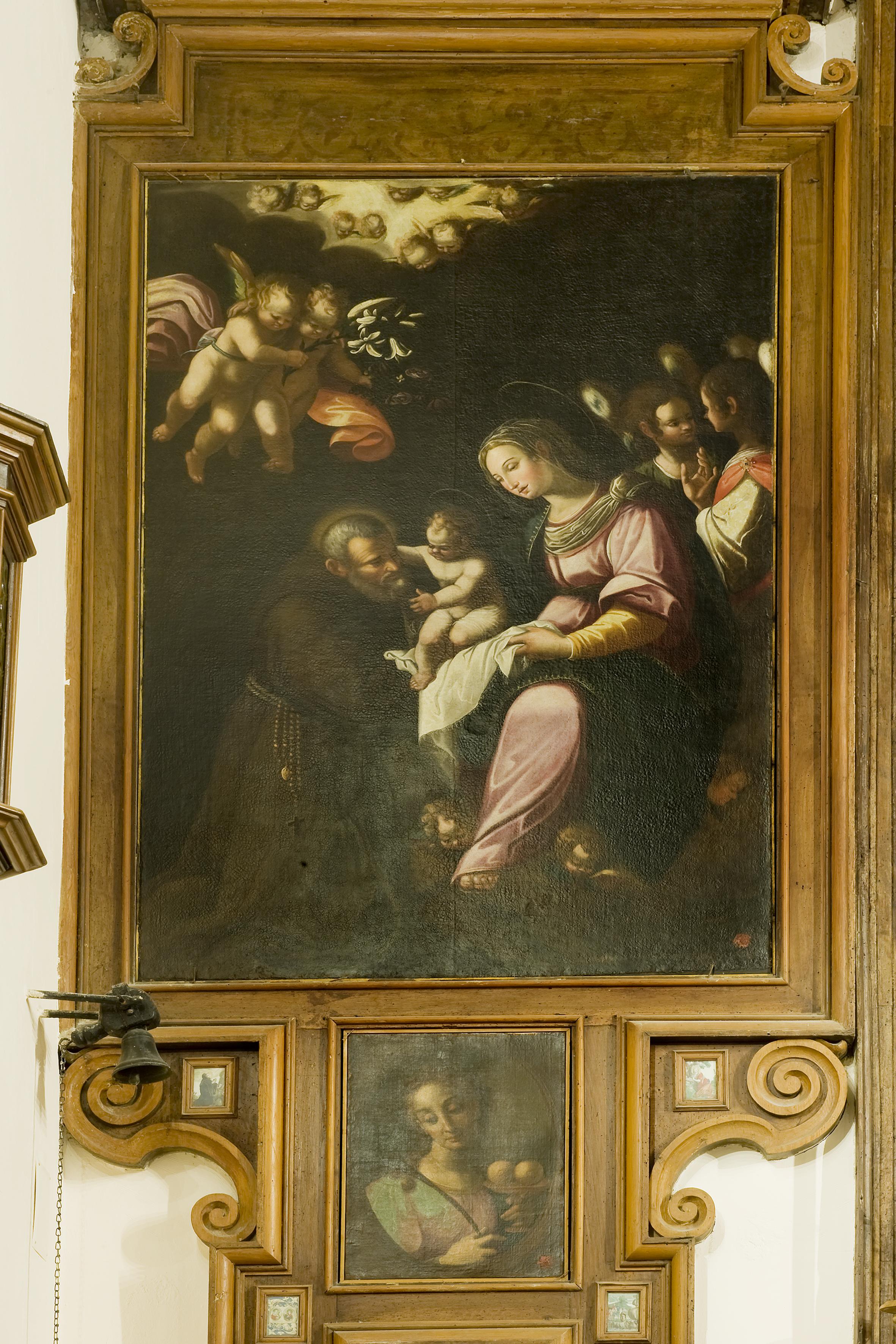 Fra Semplice da Verona, Beato Felice da Cantalice, olio su tela, sec. XVII