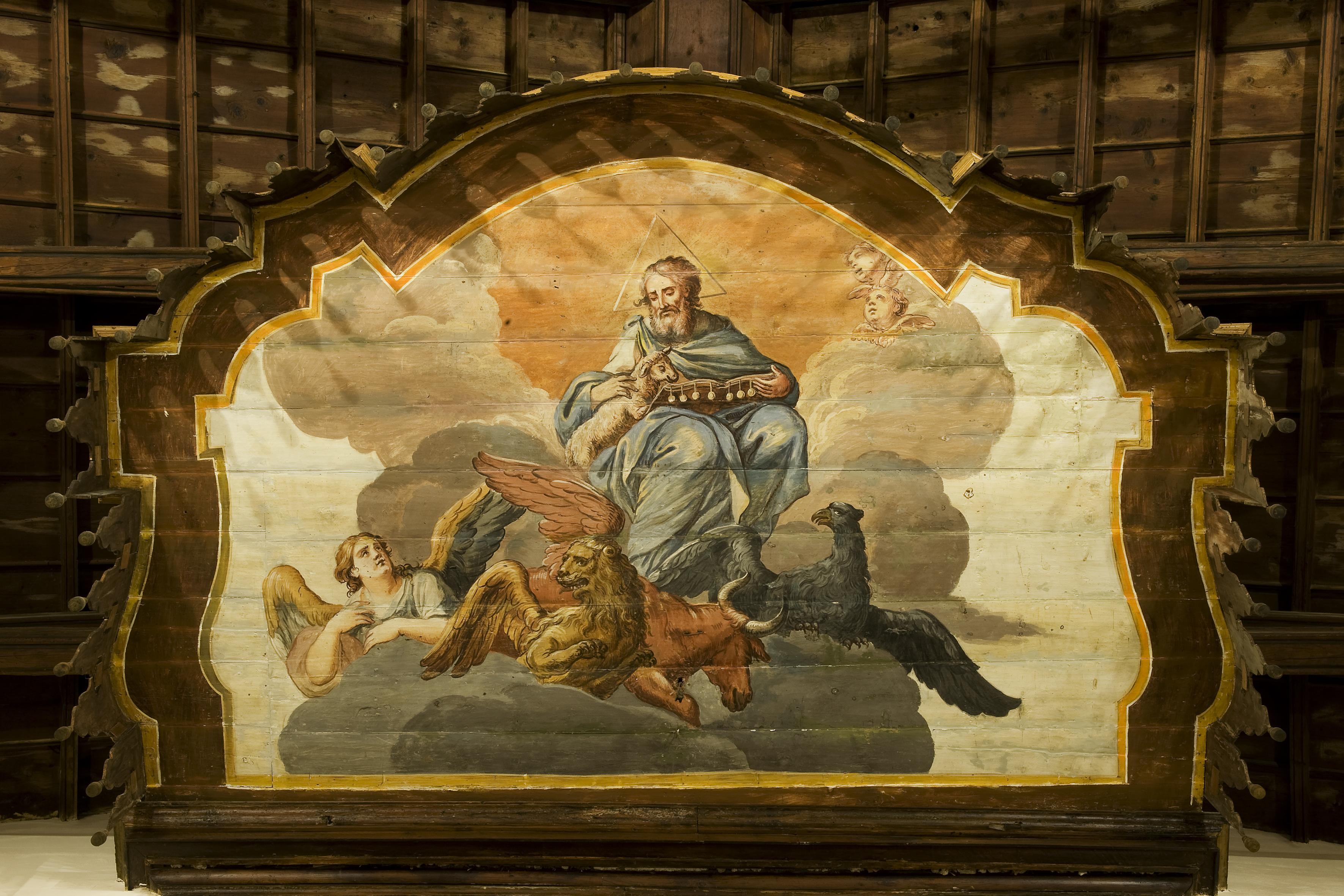 Bernardino Bongiovanni, tosello in legno, sec. XVIII