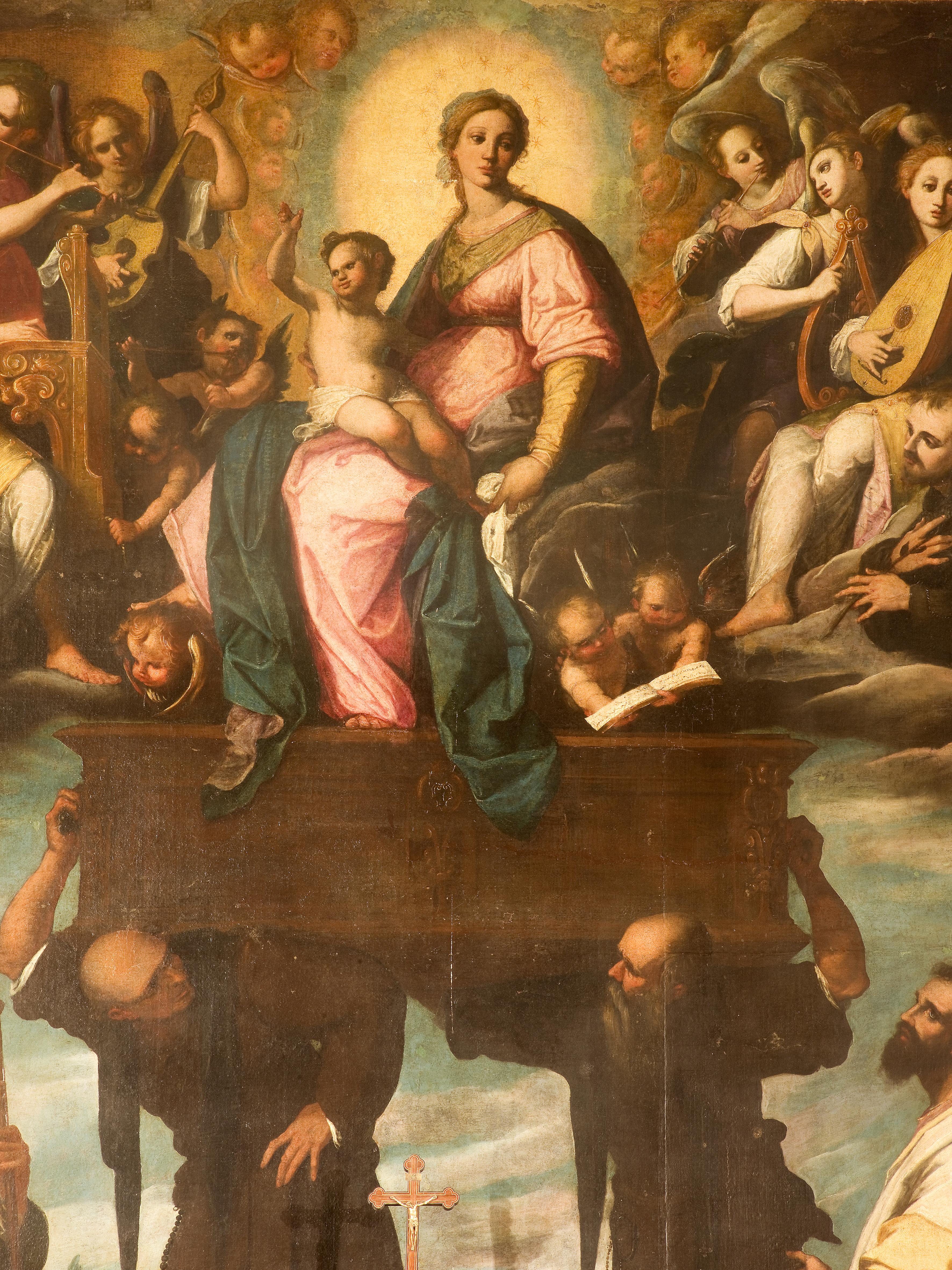 Filippo Paladini, B. V. Maria Odigitria, olio su tela, 1604
