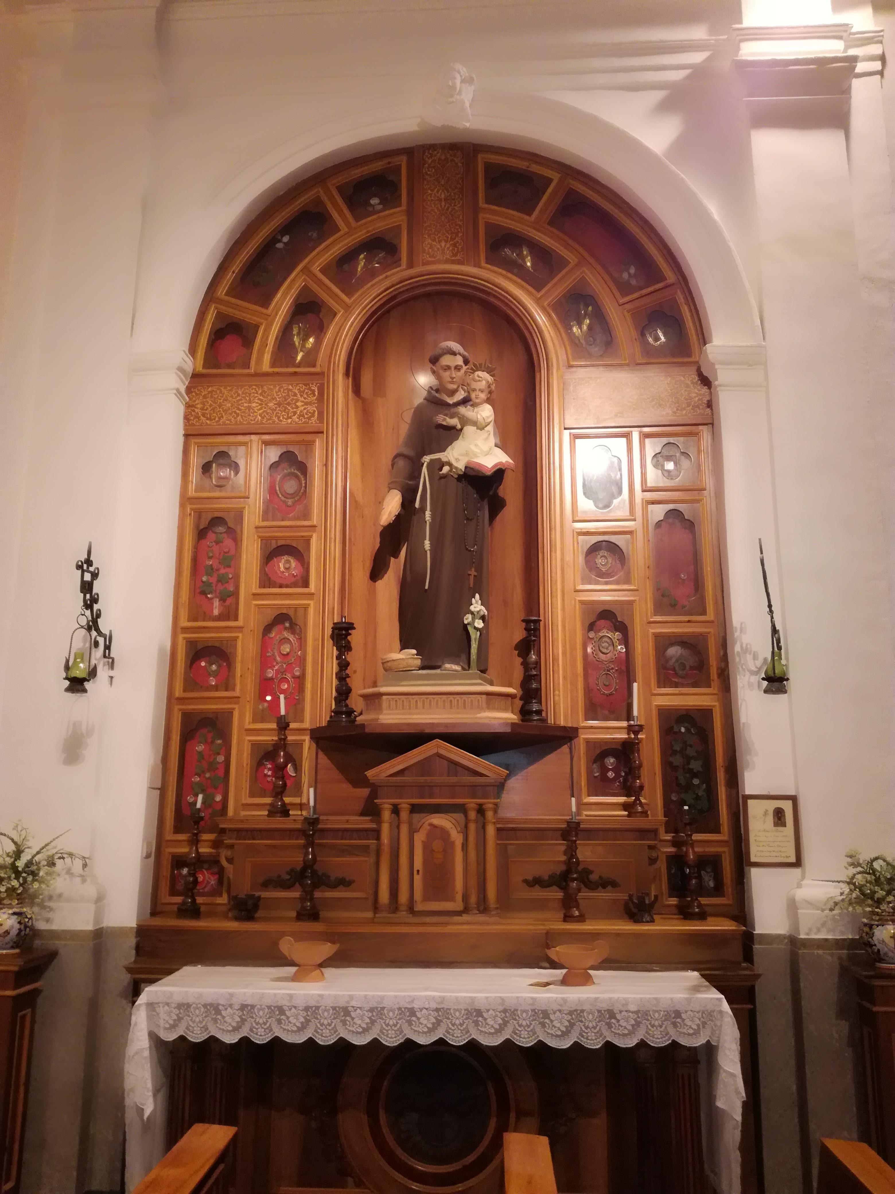 S. Antonio di Padova (legno)