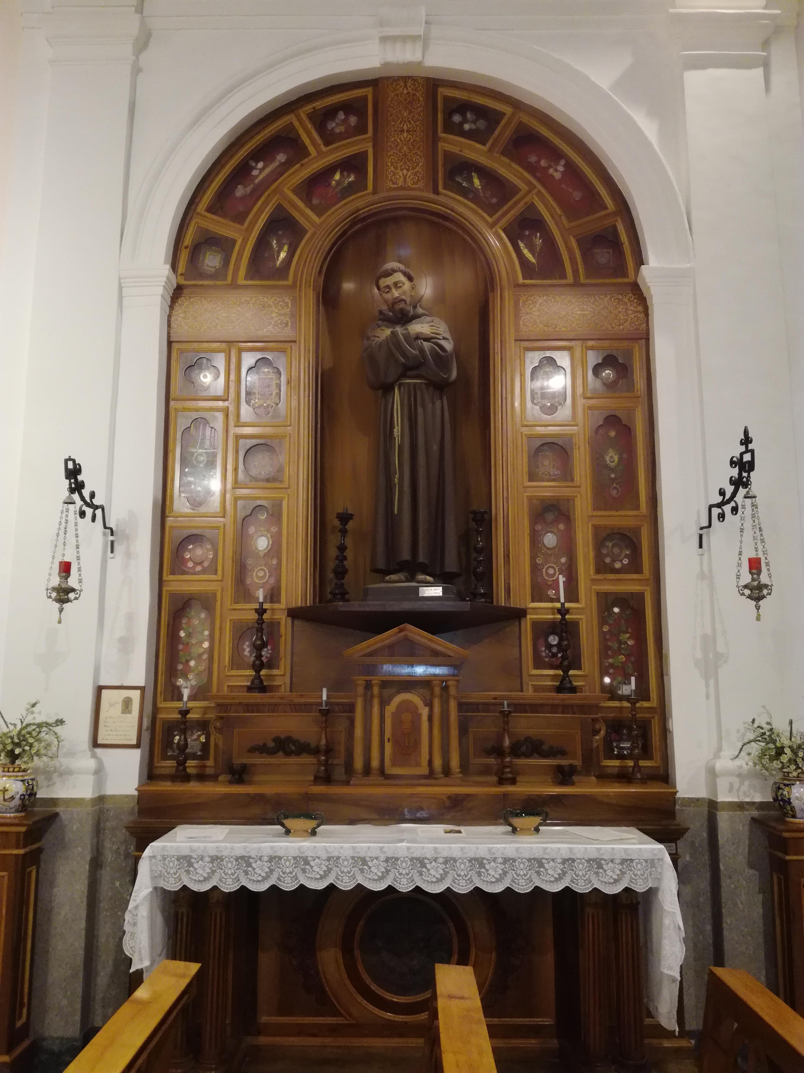 S. Francesco d'Assisi (legno)
