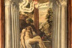 Fra Semplice da Verona, deposizione, olio su tela, 1647
